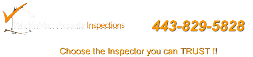 WorkinMan Property Inspections                        Call: 443-261-5828